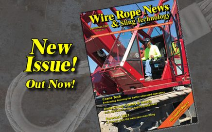 December 2020 issue of Wire Rope News & Sling Technology magazine