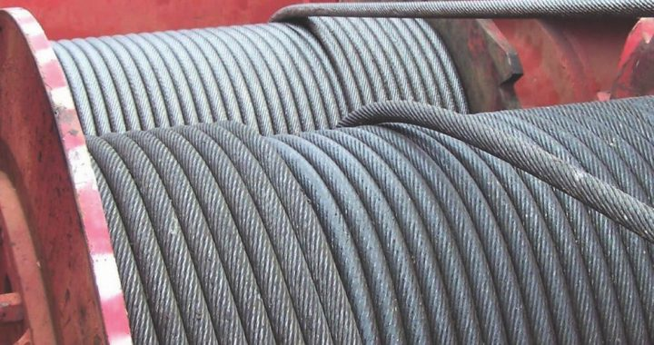wire rope - hoist drum spooling