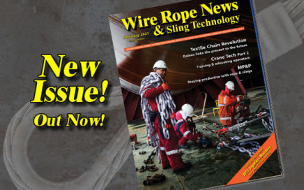 february 2021 issue Wire Rope News