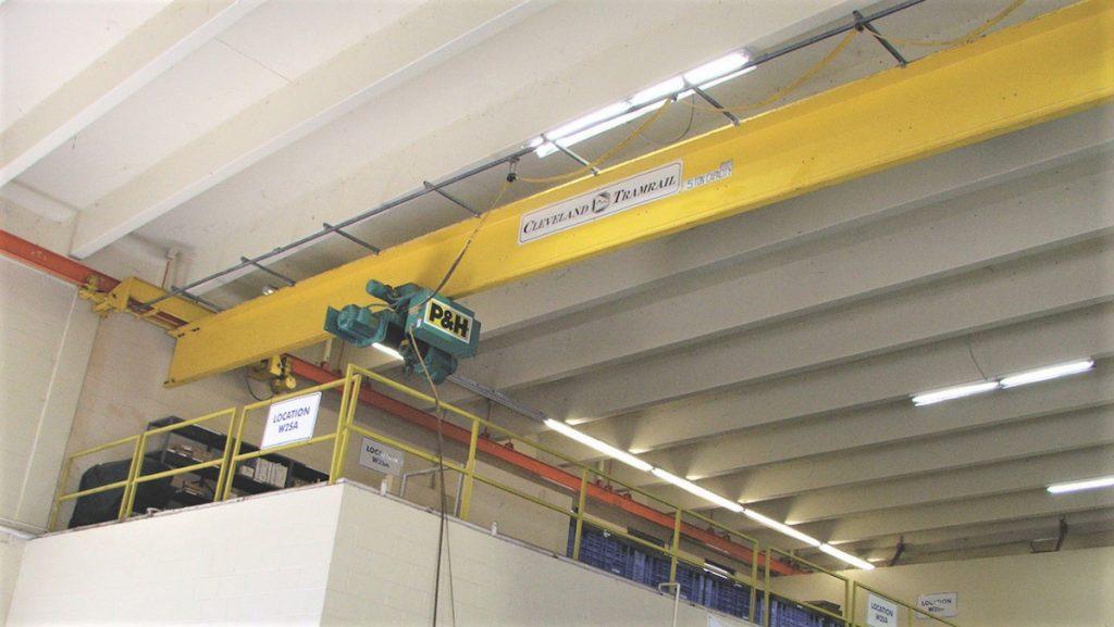 underhung bridge crane