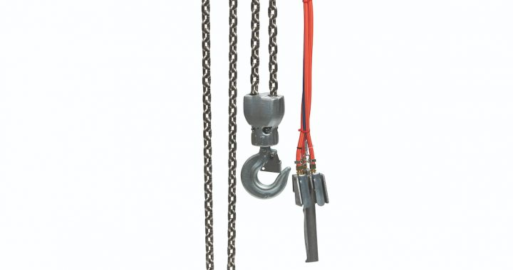 Harrington TCWP air hoist