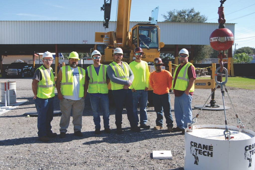 Alex Collier (3rd from right) at the Training Center during Hands on Field Coaching