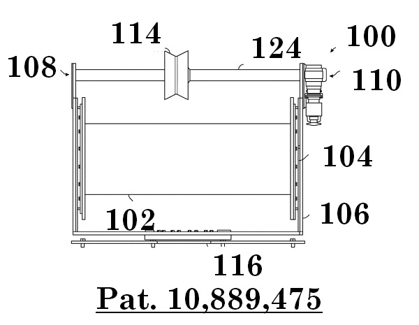 Figure 18: Overview schematic of a compact winch.