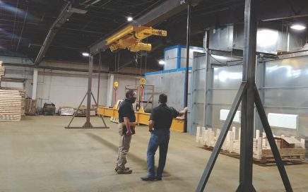 Caldwell beam lifting system